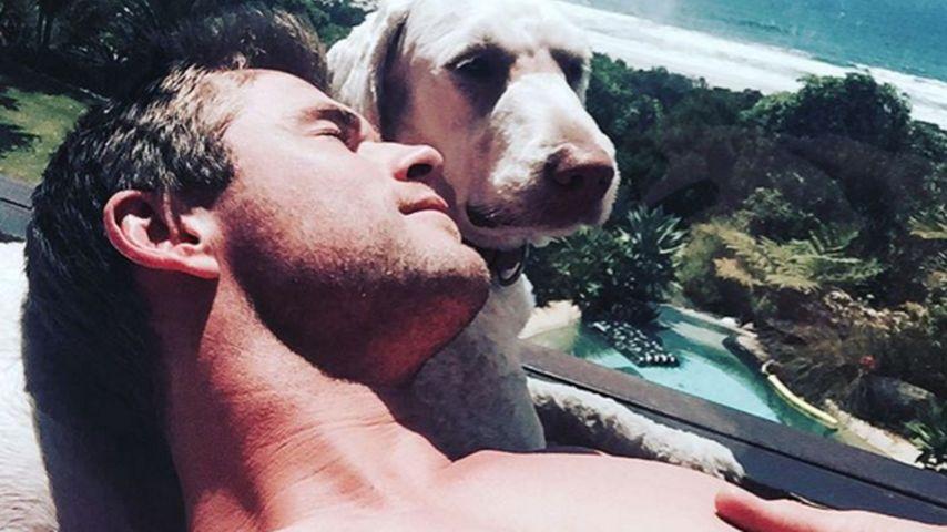 Chris Hemsworth: Sexy Neujahrs-Grüße aus Down Under