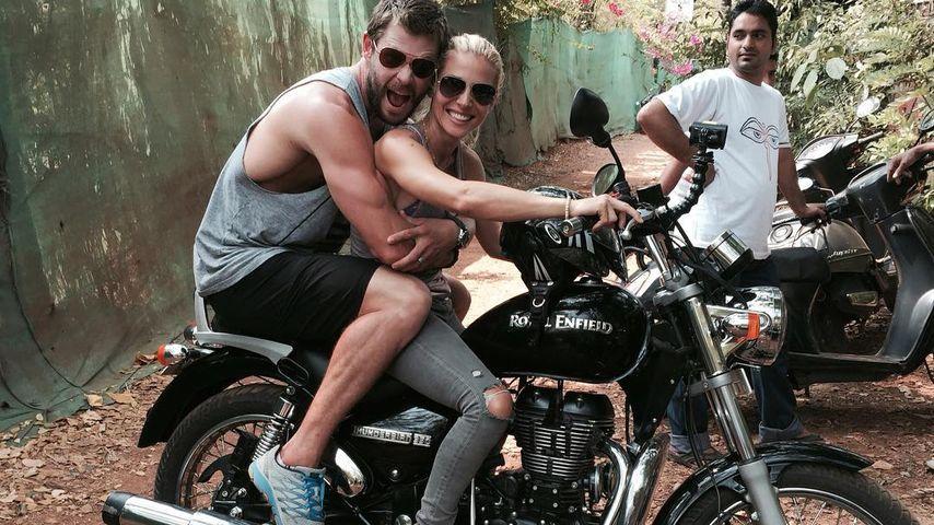 Vorbild für Miley? Chris Hemsworth & Elsa herrlich normal