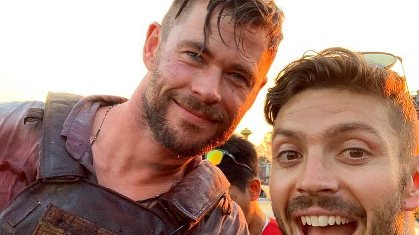 Chris Hemsworth und Luke Zocchi