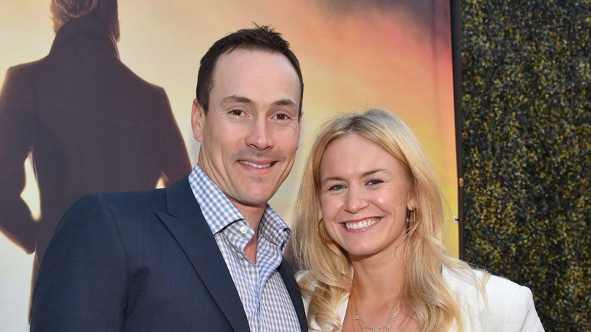 Chris Klein mit seiner Frau Laina, Mai 2015