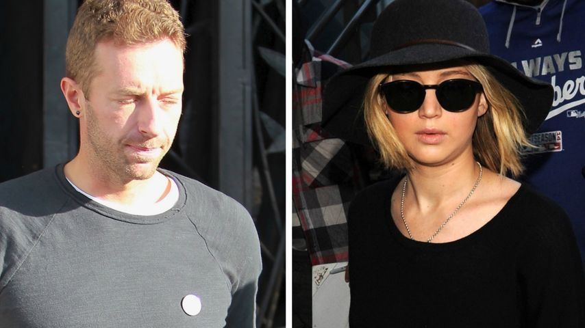 Chris Martin & Jen Lawrence beim Dinner erwischt!