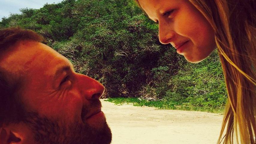 Chris Martin und Apple Blythe Alison Martin