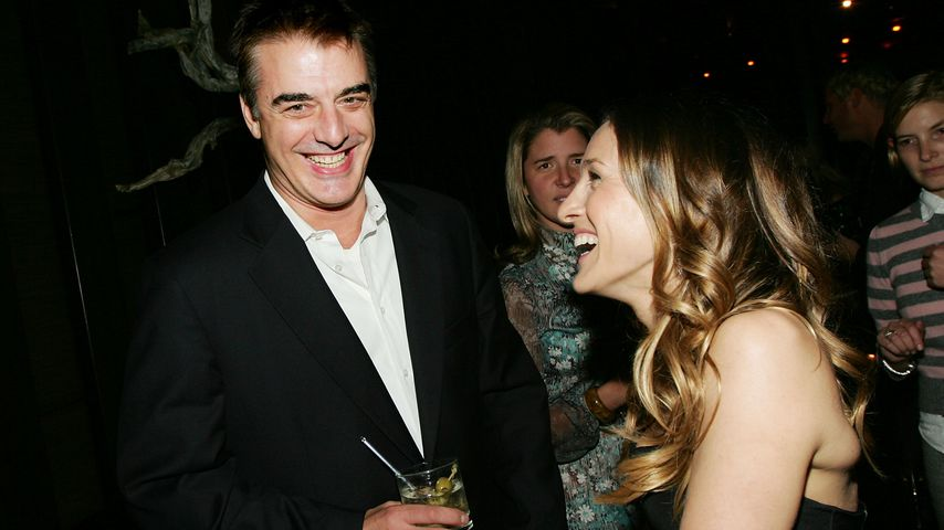 Chris Noth und Sarah Jessica Parker, New York City 2005
