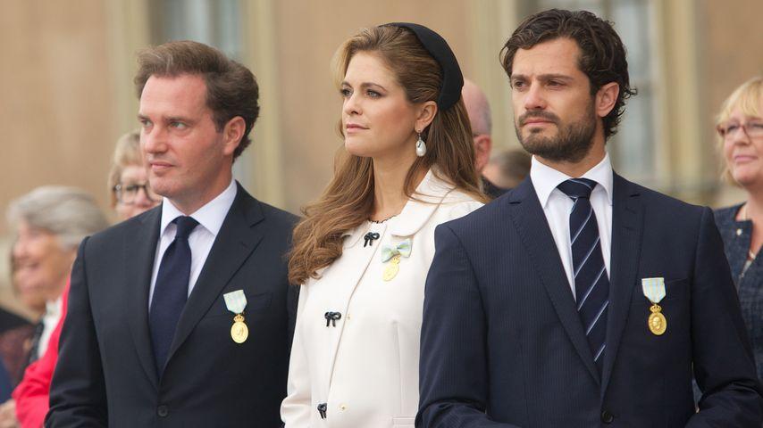 Prinz Carl Philip von Schweden, Madeleine von Schweden und Chris O'Neill