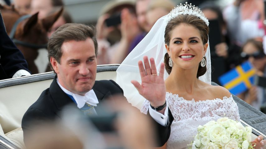 Chris O'Neill und Prinzessin Madeleine von Schweden