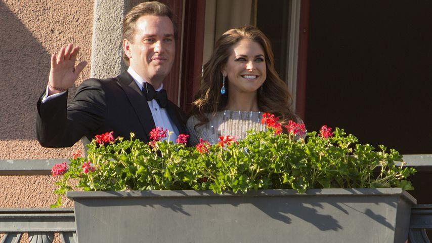 """Chris O'Neill und Prinzessin Madeleine von Schweden im """"The Grand Hotel"""" in Schweden"""