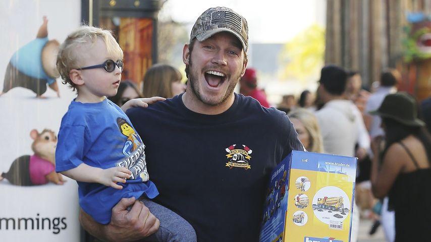 Chris Pratt im Papa-Glück: Er zeigt seinen kleinen Jack!