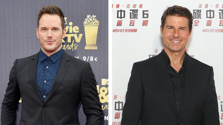 Promi-Idol: Tom Cruise ist Chris Pratts größtes Vorbild!