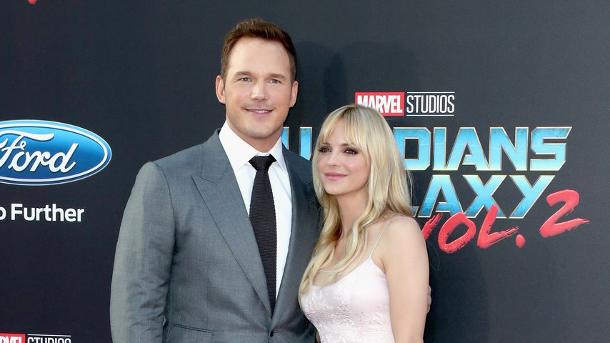 "Chris Pratt und Anna Faris bei der ""Guardians Of The Galaxy Vol. 2""-Premiere"