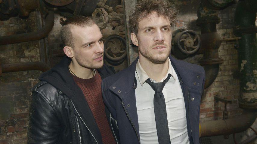 Chris (Eric Stehfest) und Felix (Thaddäus Meilinger) bei GZSZ