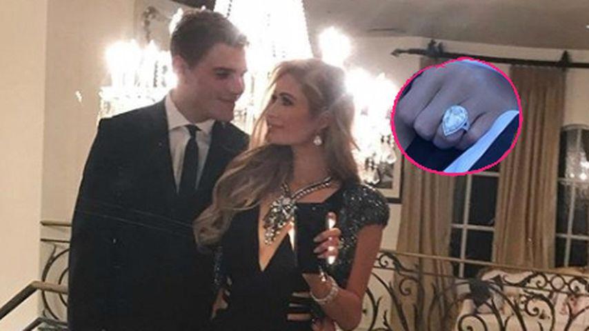 Paris Hilton: Extra-Security für ihren Verlobungs-Klunker!