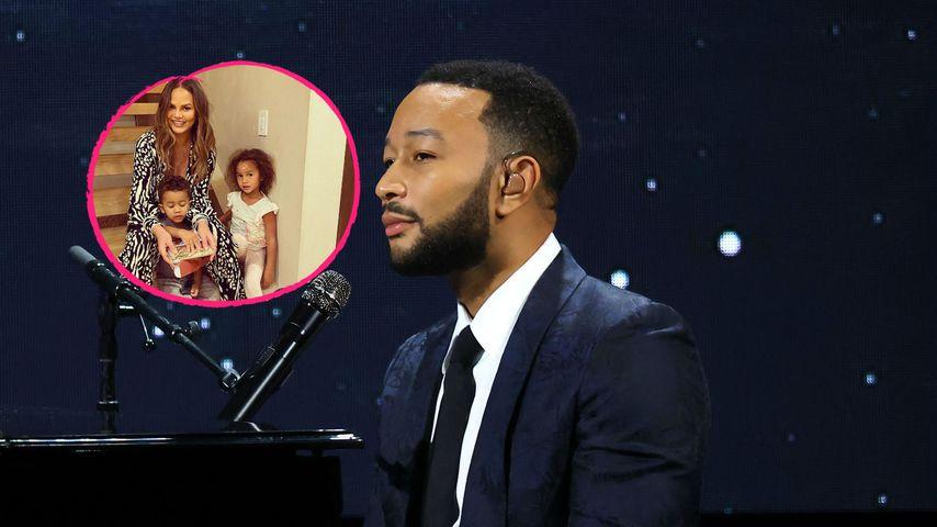 Nach Fehlgeburt: John Legend ist dankbar für Chrissy & Kids