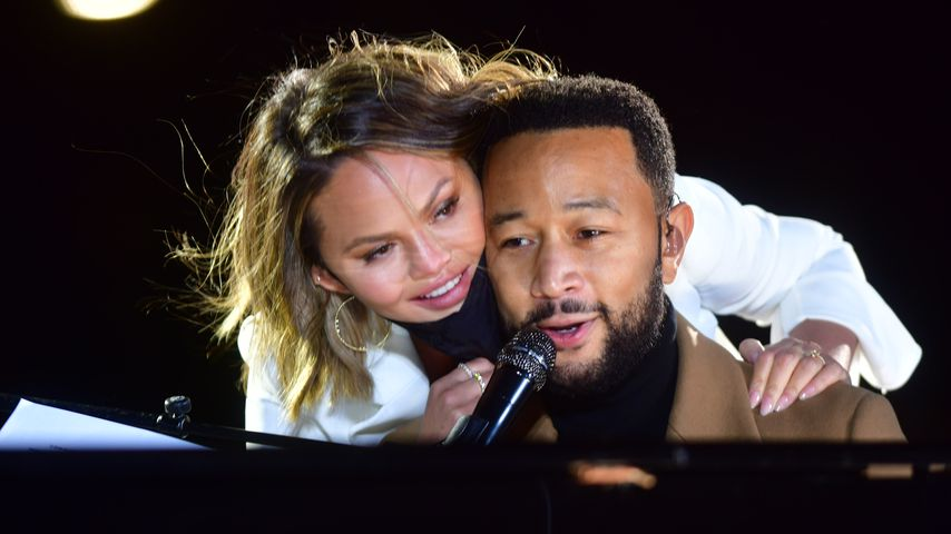 Chrissy Teigen und John Legend in Philadelphia, November 2020