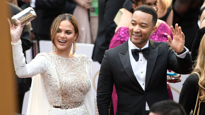 Chrissy Teigen und John Legend bei den 89. Oscars