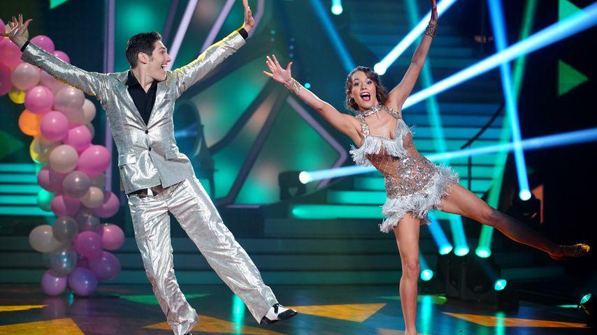 "Christian Polanc und Laura Müller bei ""Let's Dance"""