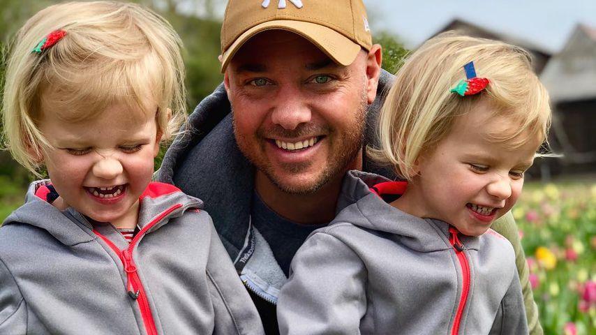 Christian Tews und seine Kinder