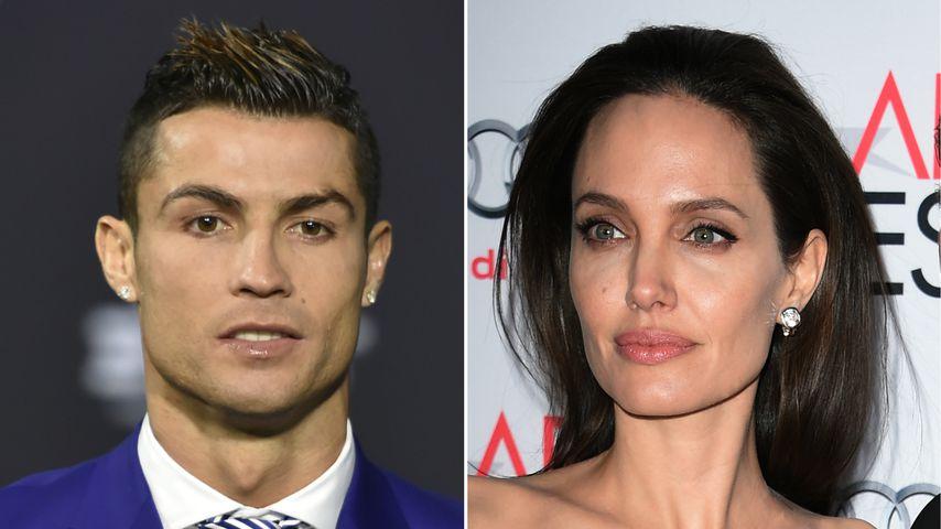 Ronaldo und Angelina Jolie: Gemeinsam vor der Kamera?