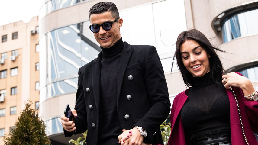 Cristiano Ronaldo und Georgina Rodriguez in Madrid