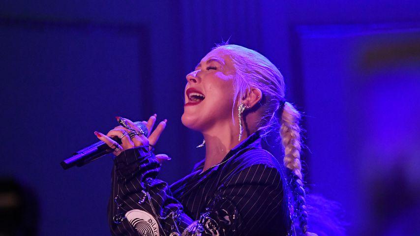 Stimme verloren: Christina Aguilera muss Konzert absagen!