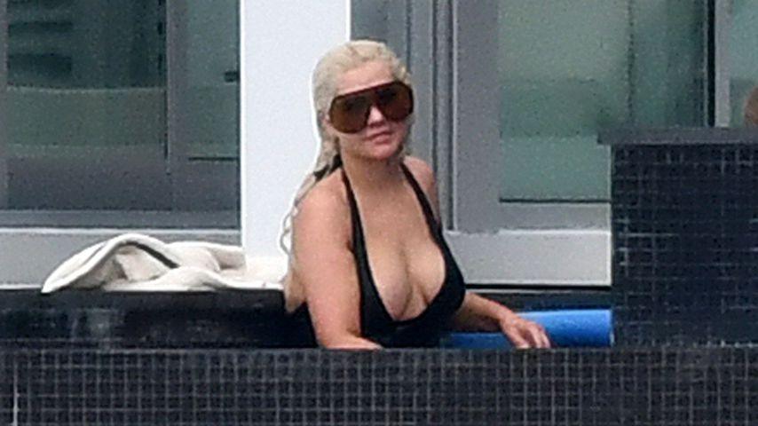 Guten Morgen! Christina Aguilera zeigt ihr XXL-Dekolleté