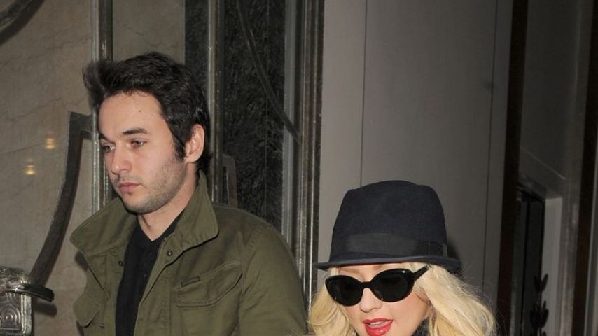 Christina Aguilera: Wilde Party-Nacht in London
