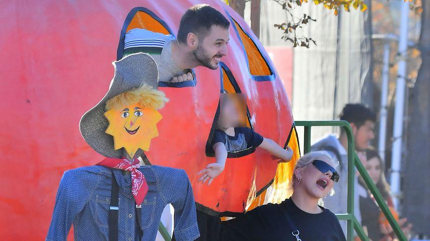Im Halloween-Fieber: Christina Aguilera genießt Familien-Tag
