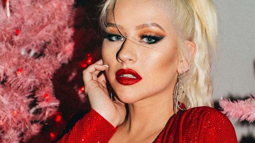 Christina Aguilera im Dezember 2019