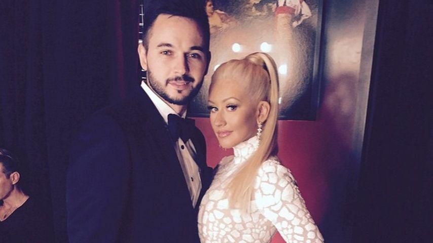 Christina Aguilera und Matthew Rutler
