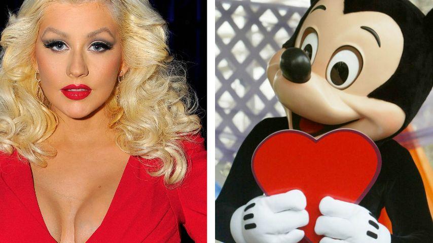 Christina Aguilera: Heftiger Streit mit Micky Maus