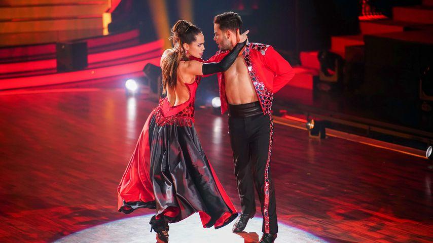 """Christina Luft und Luca Hänni bei """"Let's Dance"""""""