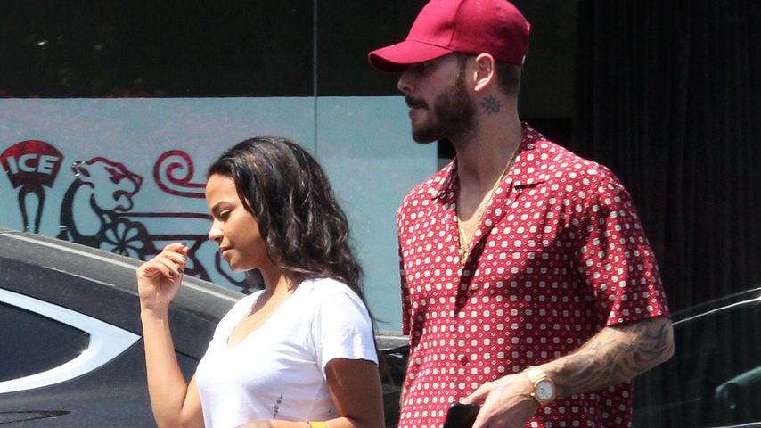 Christina Milian und Matt Pokora Anfang Mai 2019 in Los Angeles