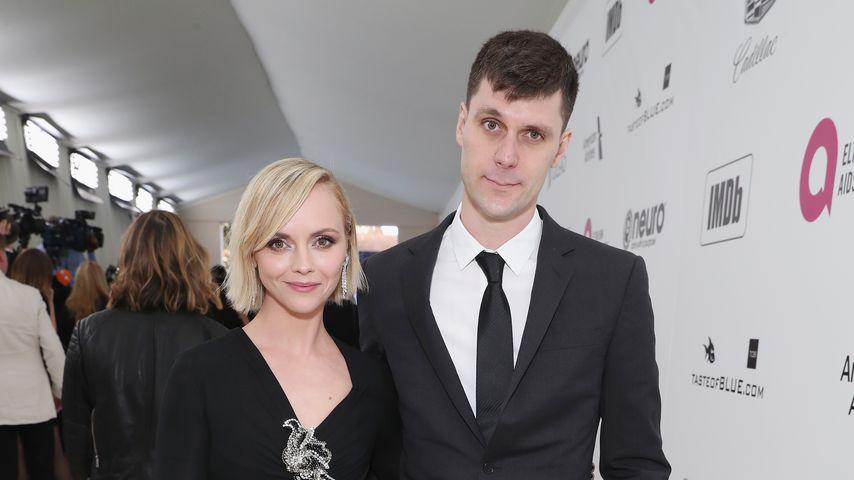 Christina Ricci und James Heerdegen im Februar 2019
