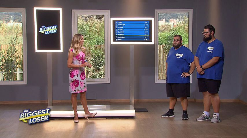 "Christine Theiss, Nico und Anthony bei ""The Biggest Loser"""