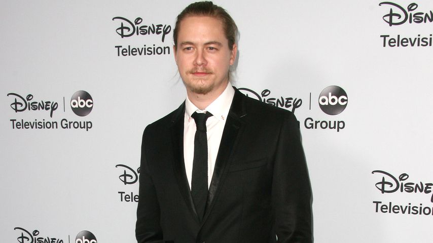 Christoph Sanders auf einer Disney-ABC-Television-Party 2014