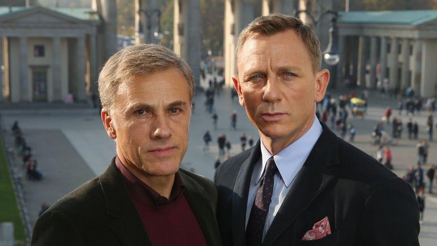 Christoph Waltz und Daniel Craig in Berlin, 2015