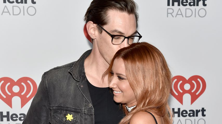 Christopher French und Ashley Tisdale im Jahr 2015