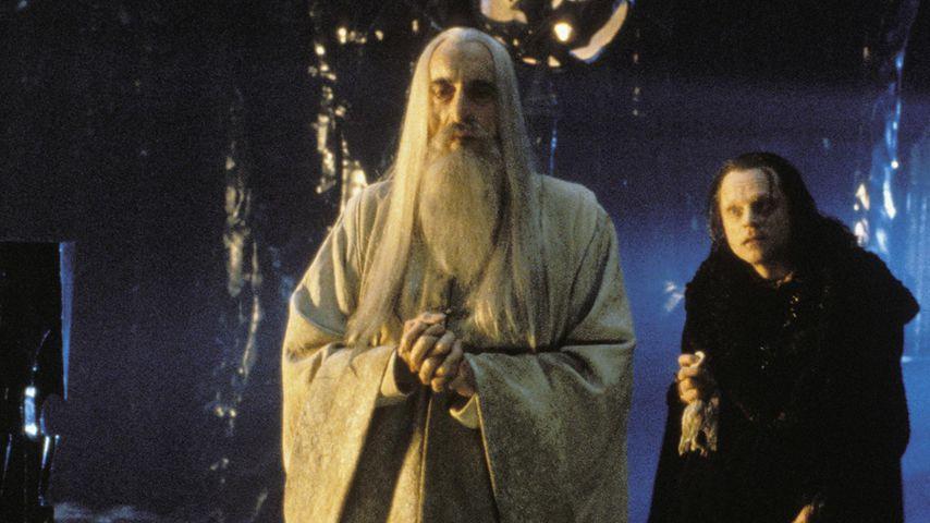 """Christopher Lee als Saruman in """"Der Herr der Ringe: Die zwei Türme"""""""