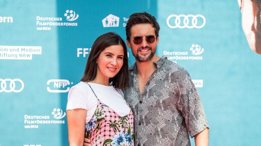 Chryssanthi Kavazi und Tom Beck im Juni 2019