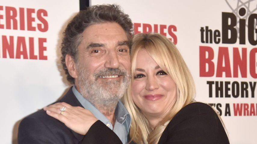 Chuck Lorre und Kaley Cuoco im Mai 2019