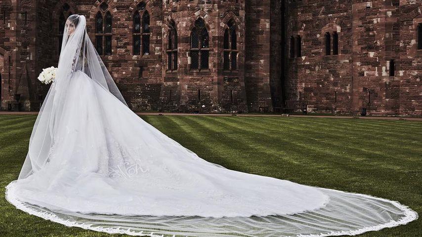 XXL-Schleier: So märchenhaft sah Ciara als Braut aus!