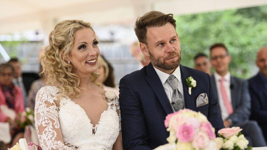 Cindy und Alexander bei ihrer Hochzeit