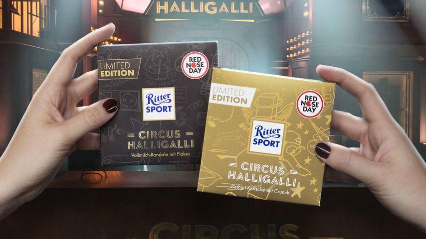 """""""Circus HalliGalli""""-Schokolade zum Red Nose Day 2017"""