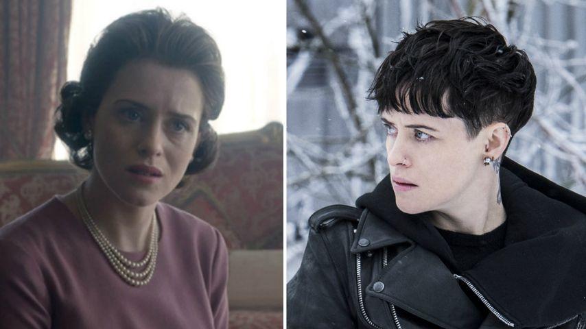 Von der Queen zur Hackerin: Claire Foy liebt ihre Rolle!
