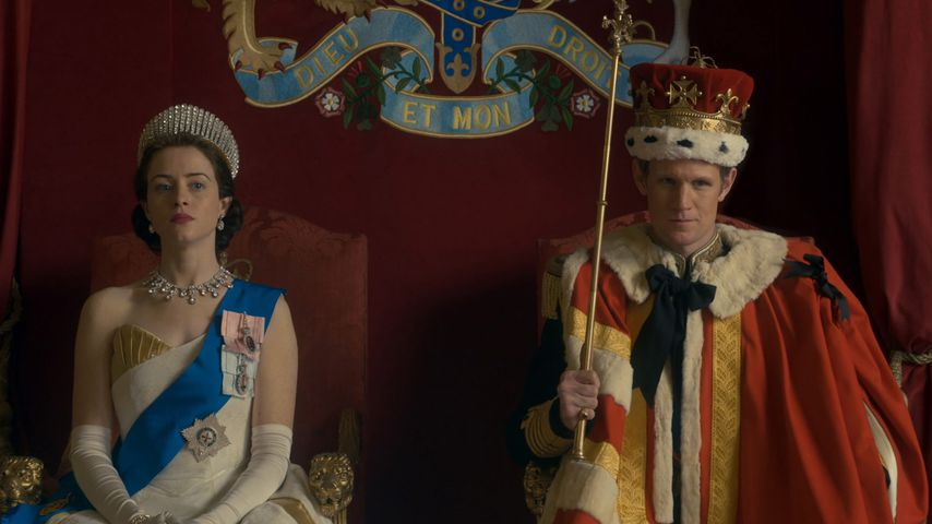 "Claire Foy und Matt Smith in ""The Crown"""