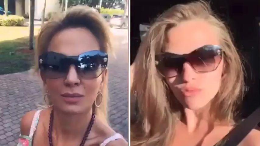 Ups! Wendler-Ex und Wendler-Laura haben gleiche Sonnenbrille
