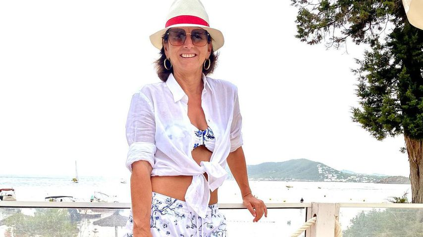 Claudia Obert auf Ibiza