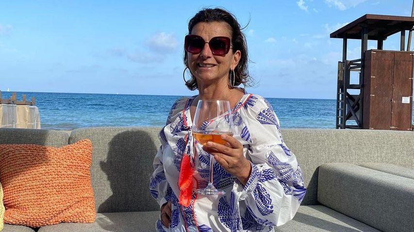 Claudia Obert auf Ibiza, Juni 2021