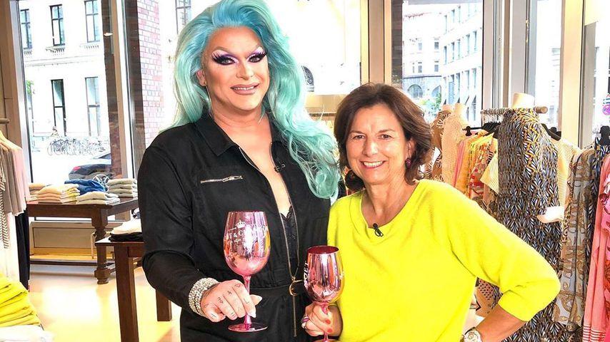 Claudia Obert und Barbie Breakout im Juni 2020