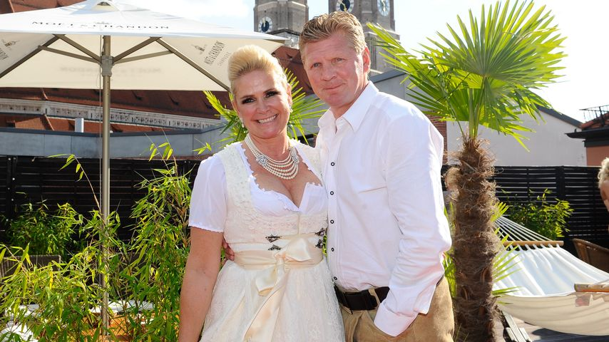 Claudia und Stefan Effenberg in München
