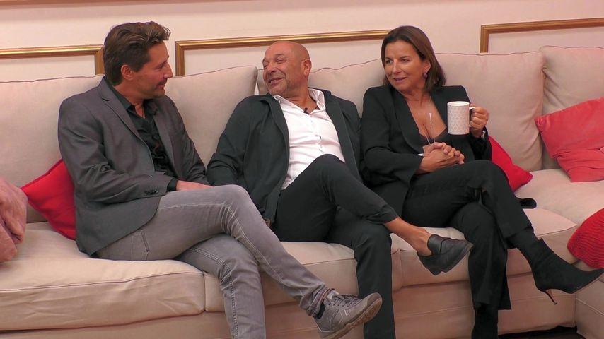 """""""Claudias House of Love""""-Kandidaten Claude und Toni mit Claudia Obert"""